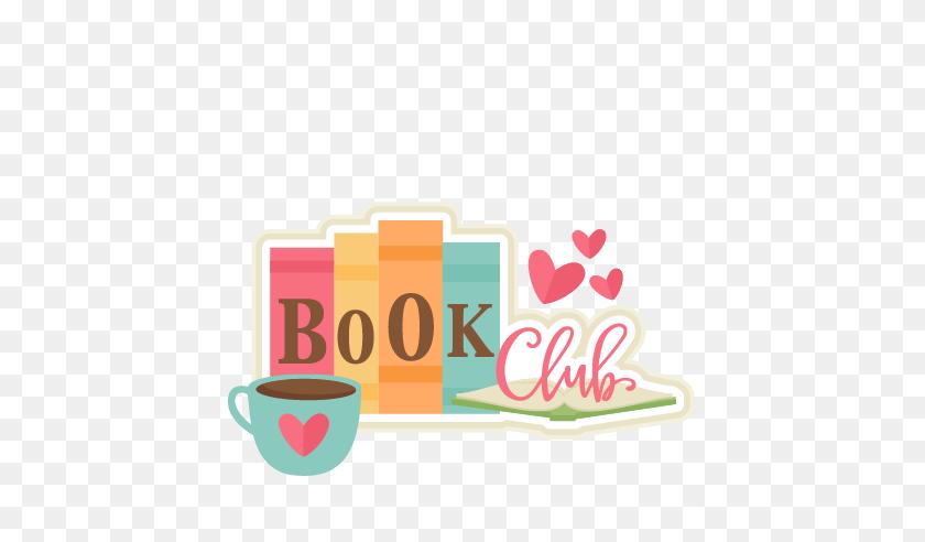 Luxury Book Club Clip Art Book Club Title Scrapbook - Cute Book Clipart