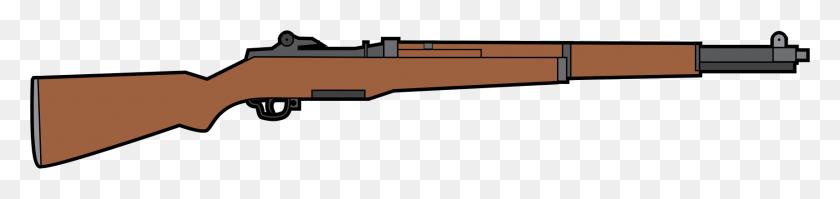 1714x306 M Garand Rifle Icons Png - M1 Garand PNG