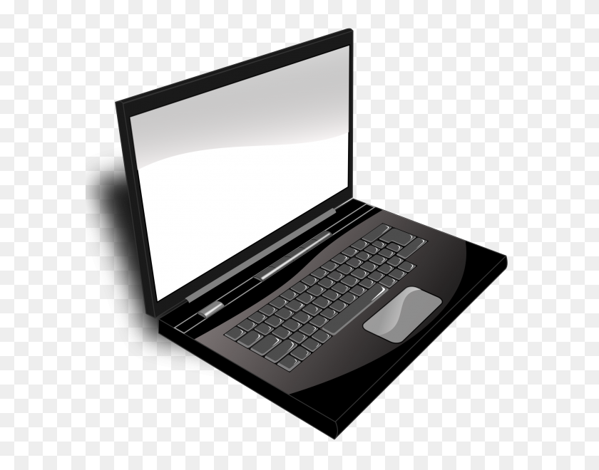 600x600 Mac Laptop Clipart - Mac Clip Art