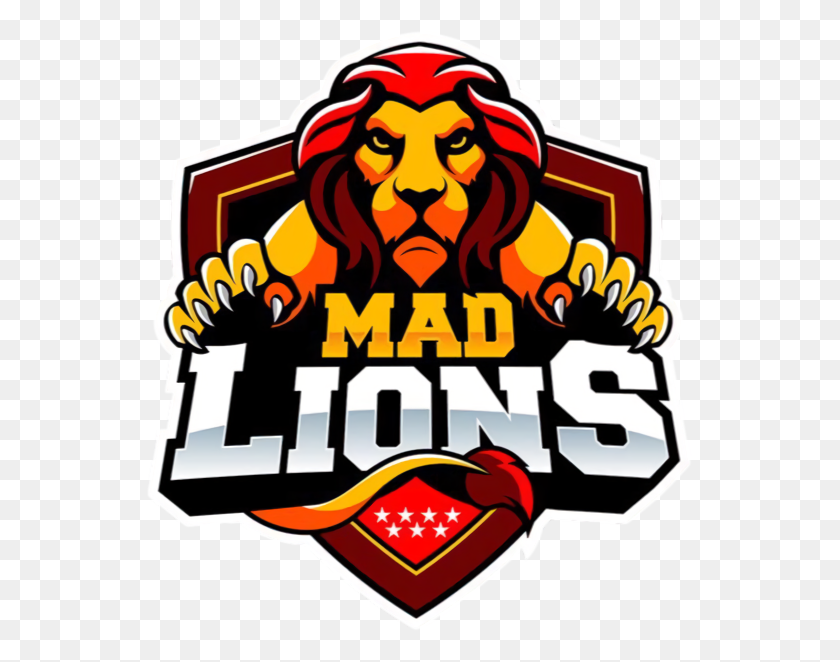 Mad Lions E C - Daniel And The Lions Den Clipart