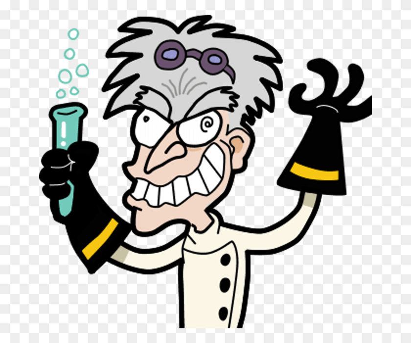 Mad Science Cliparts - Free Science Clipart