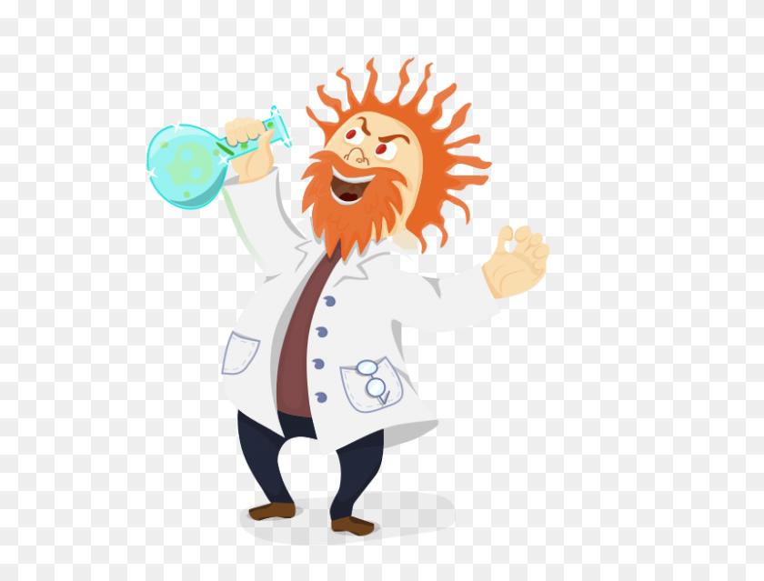 800x594 Mad Scientist Clipart - Meet The Teacher Clipart