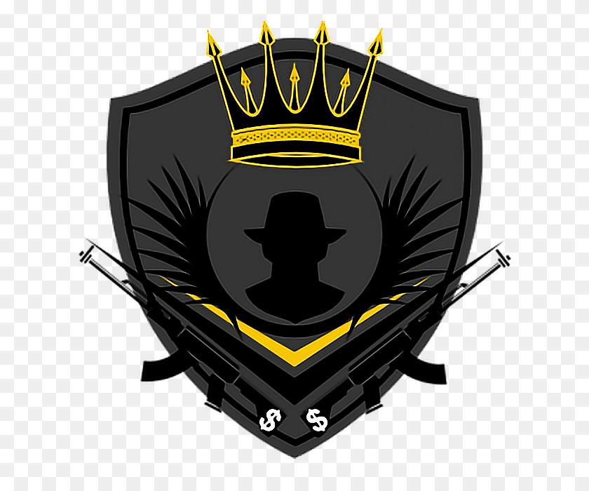 Mafia Crown Logo Gold - Mafia Clipart