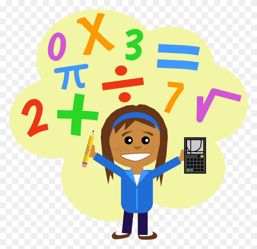 Magic Clipart Math Kid - Toy Blocks Clipart