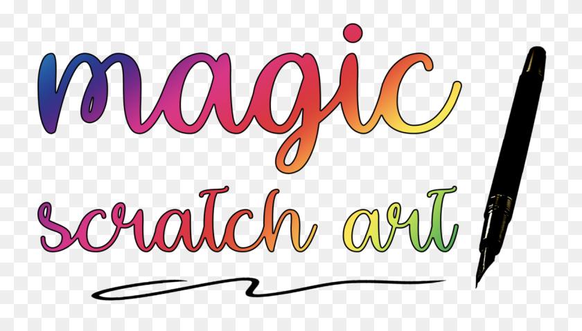 Magic Scratch Art Diy Scratch Art Stress Relief For Adults - Scratch Clipart