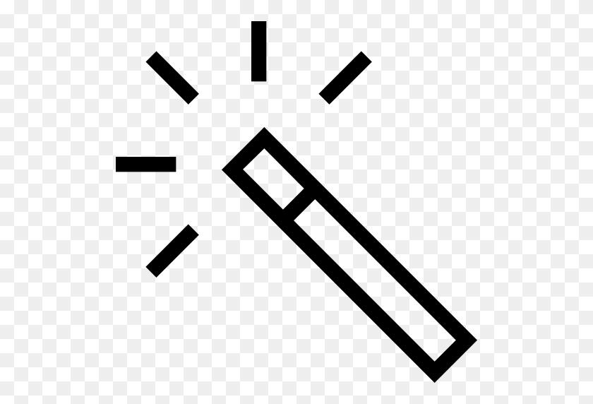 Magic Wand, Magic Wand Tool, Magician Icon With Png And Vector - Magic PNG