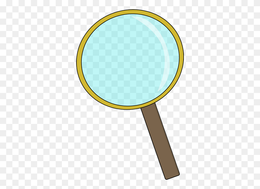 348x550 Magnifying Glass Clip Art Magnifying Glass Vector Image Image - Science Clipart PNG