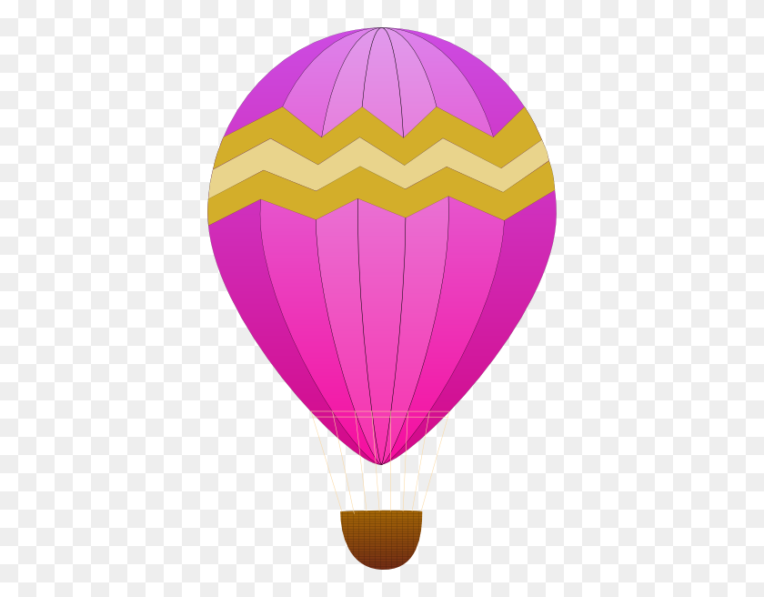 Maidis Hot Air Balloons Clip Art Free Vector - Letter W Clipart