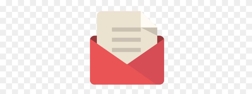 Mail Icon Flat Retro Modern Iconset Grafikartes - Mail PNG