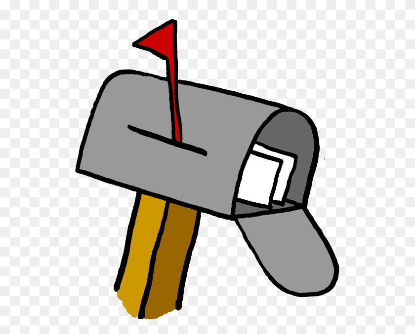 550x617 Mailbox Clipart Melonheadz - Melonheadz Clipart Free
