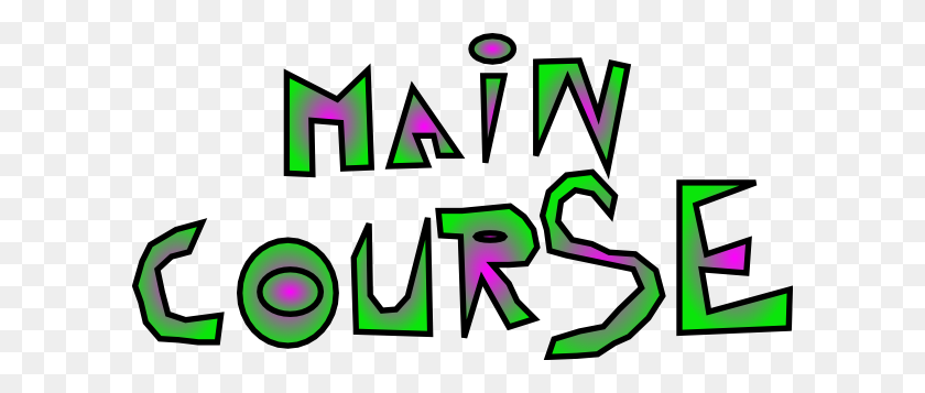 Main Course Clip Art - Main Office Clipart