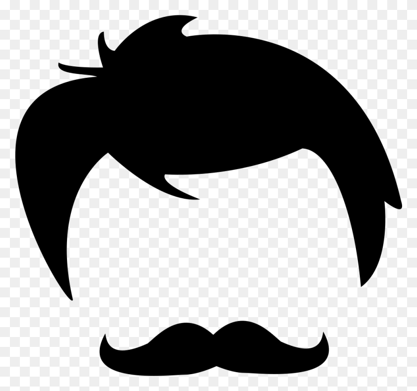 Male Hair Of Head And Face Shapes Png Icon Free Download - Men Hair PNG