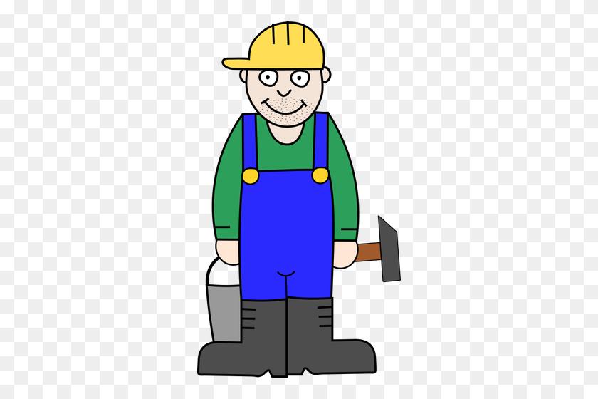 Male Worker - Male Nurse Clipart