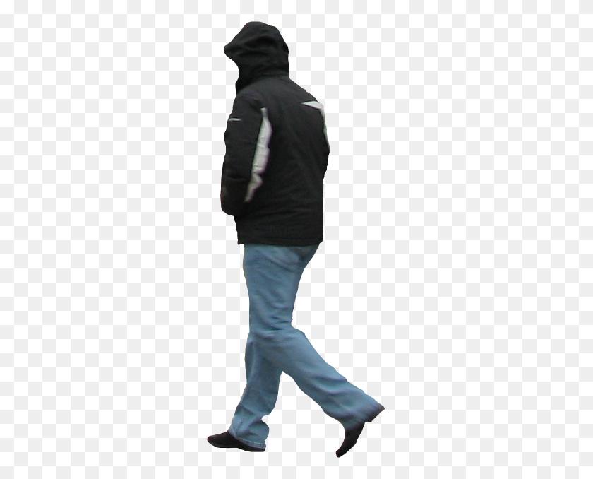 Man In Winter Jacket Immediate Entourage Rendering People - People Standing PNG
