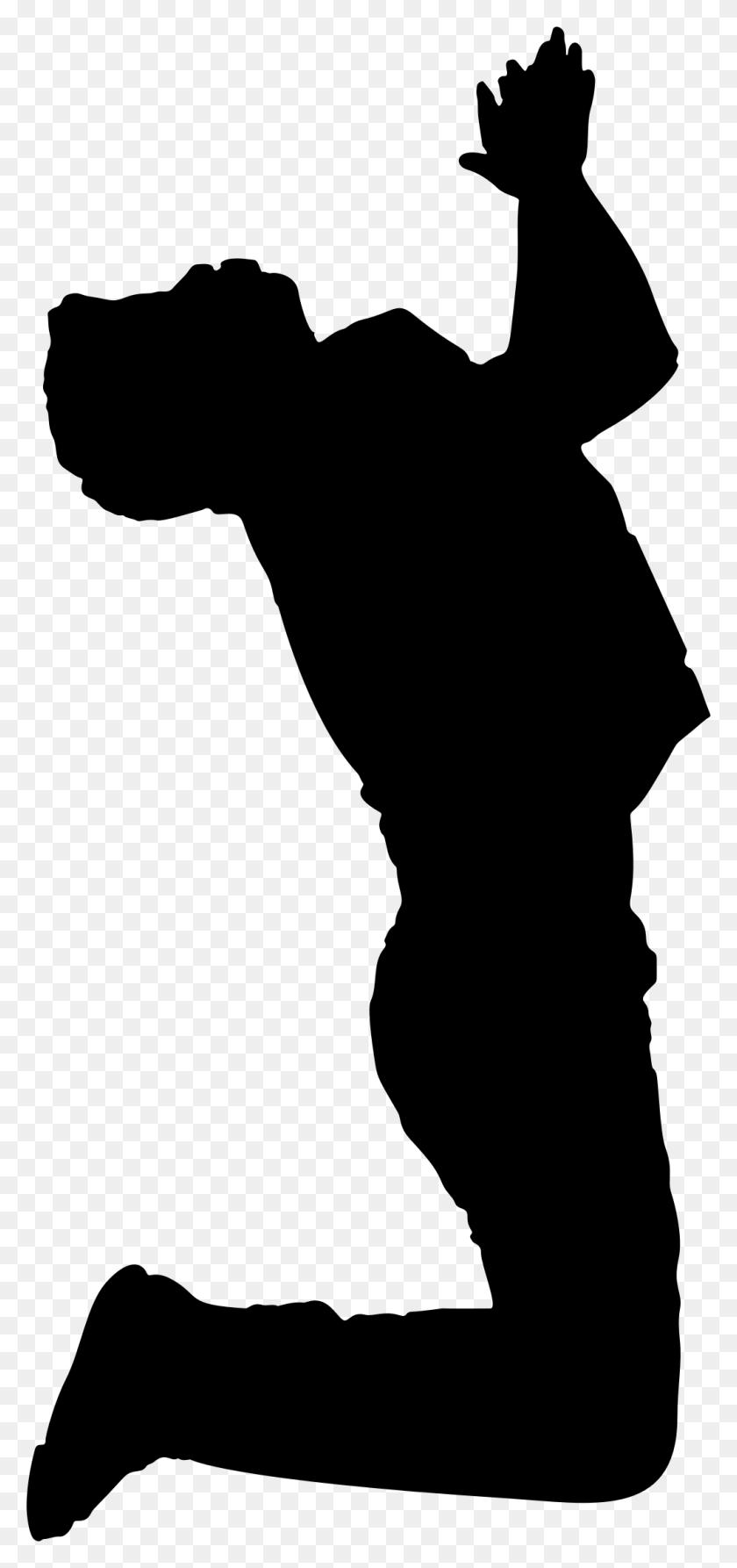 Man Praying Silhouette Clip Art - Man Praying Clipart