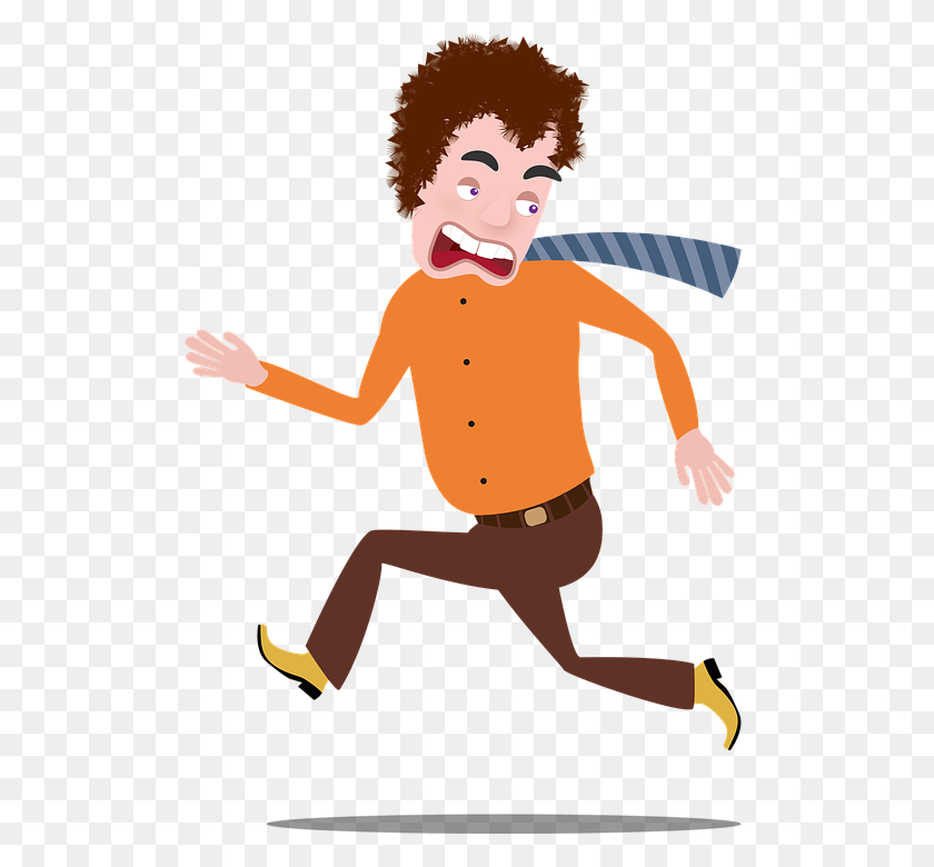 Man Run Cartoon Male Running Man Sport People - Running PNG