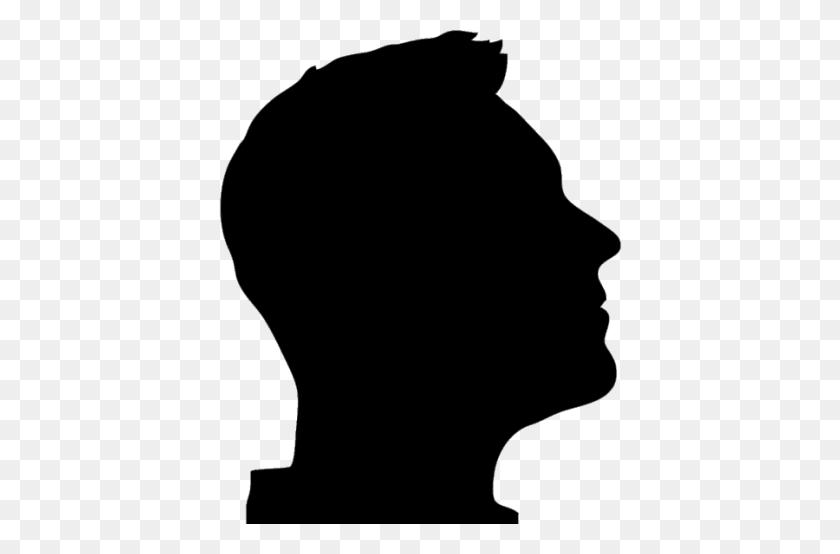 Man Silhouette Denver Street School - Man Silhouette PNG