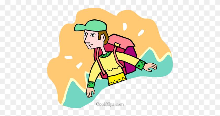 Hiker Clip Art at Clker.com - vector clip art online, royalty free & public  domain