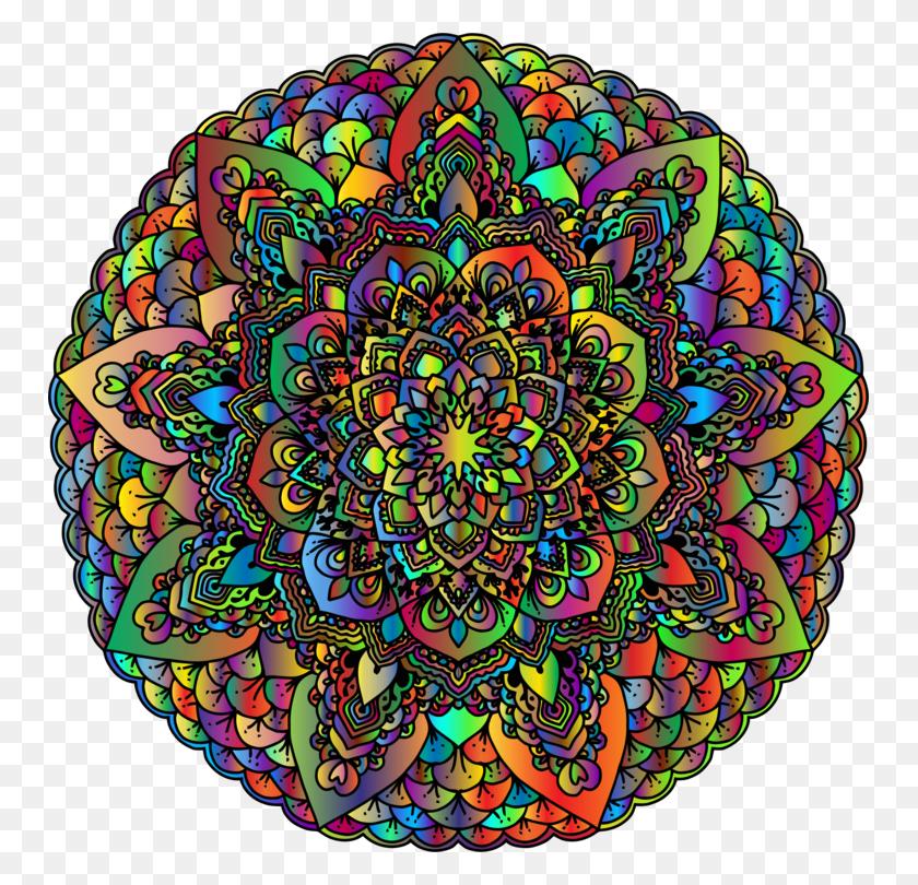 751x750 Mandala Computer Icons Circle Line Art - Mandala Clipart