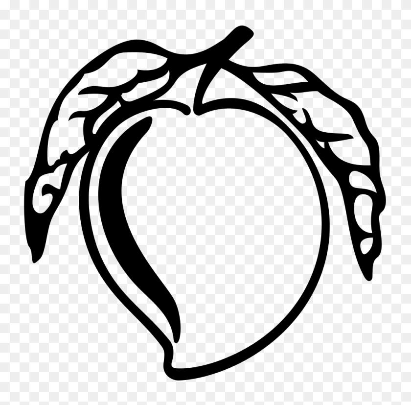 Mango Clip Art Images Black - Person Clipart Black And White
