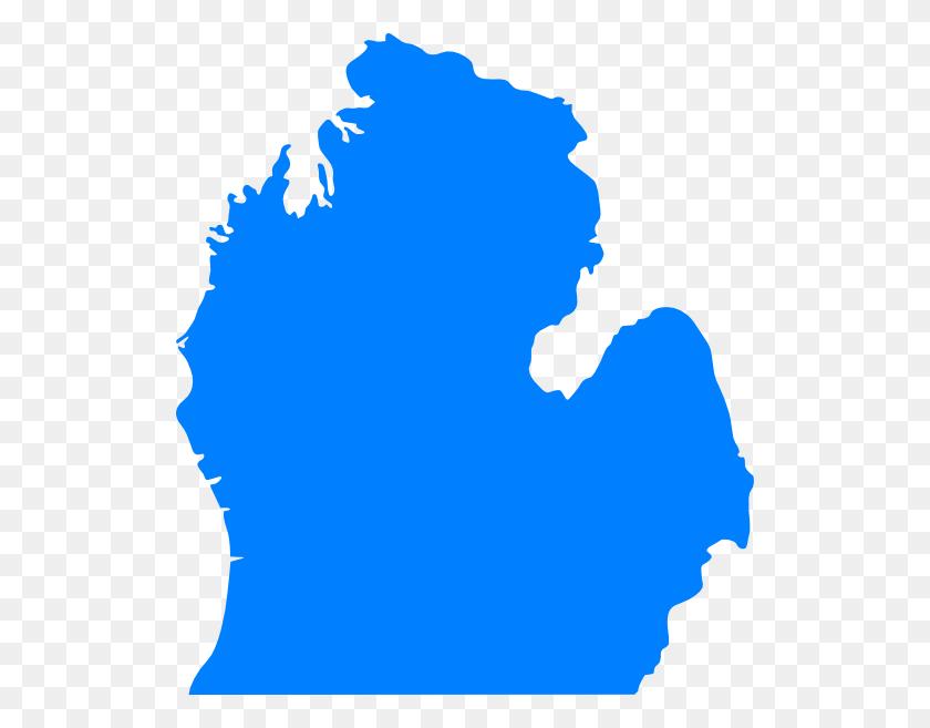 Map Michigan State Clip Art - Michigan State Clip Art