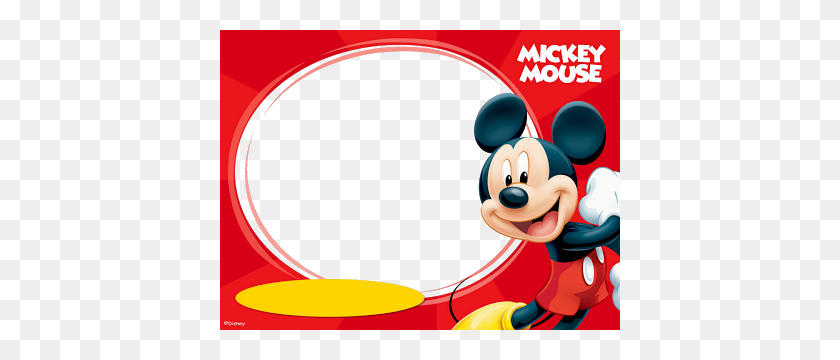 Marcos Png De Mickey Mouse Para Marcos Gratis Para - Marcos PNG