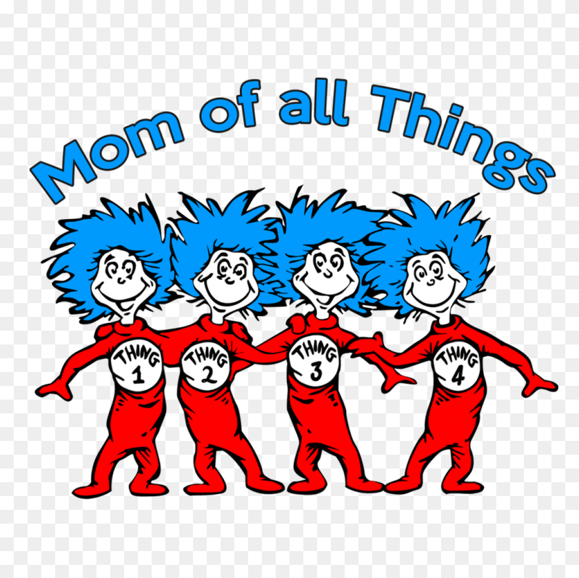 Marcus Reid - Thing 1 And Thing 2 PNG