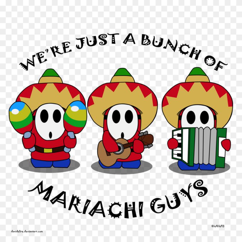 Mariachi Guys - Mariachi Band Clipart