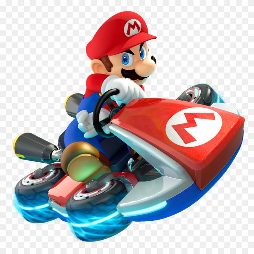 Mario Kart Drunk Driver Mario And Friends Mario - Mario Kart 8 Deluxe PNG