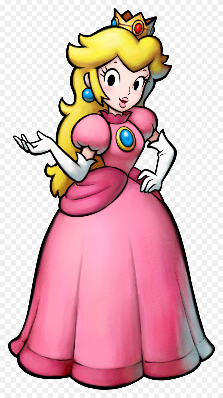 Mario Princess Peach Mario Bros Princesa Peach - Princess Peach Clipart