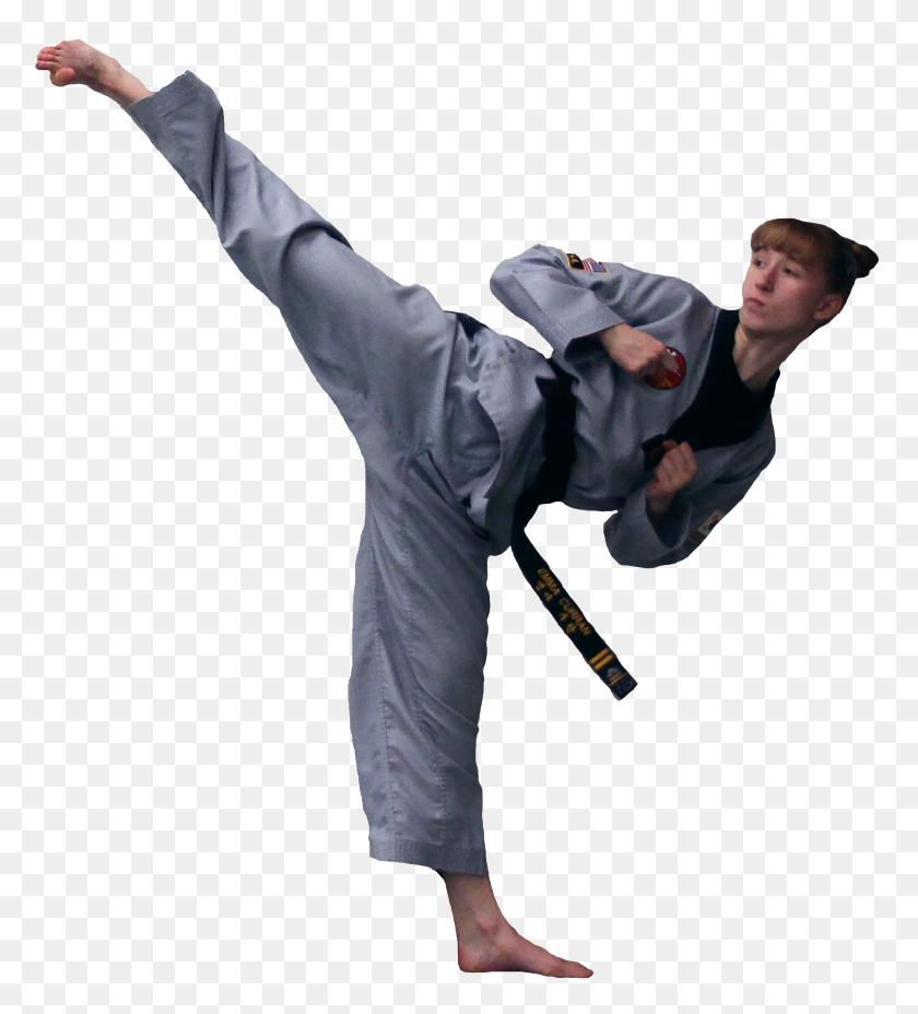 Martial Arts Clipart Taekwondo Instructor - Taekwondo Clip Art