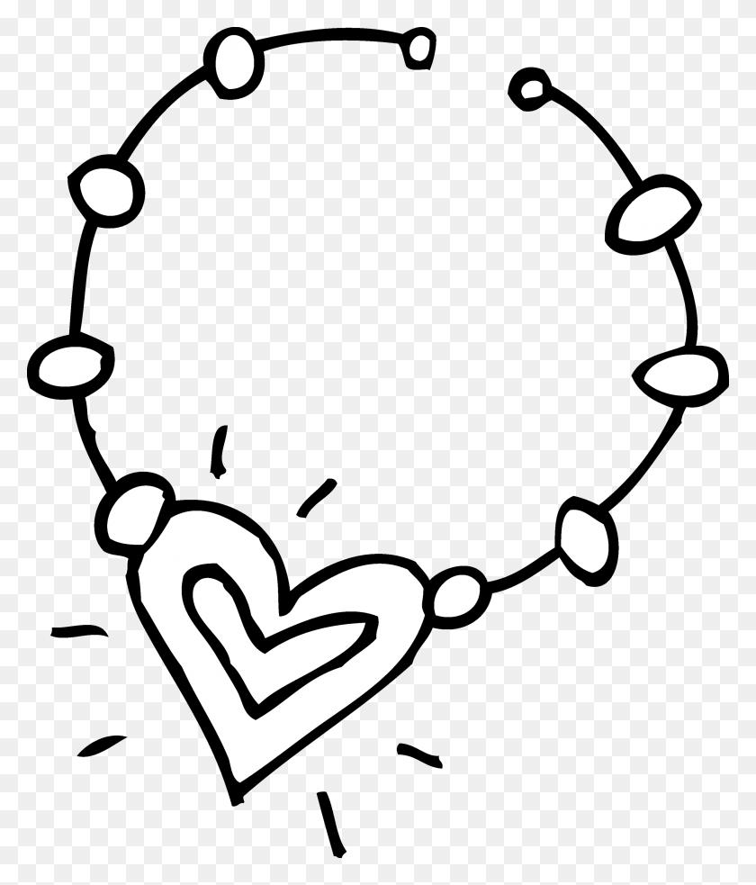 Marvellous Design Best Friend Heart Necklaces Necklace Clipart - Best Friend Clipart Black And White