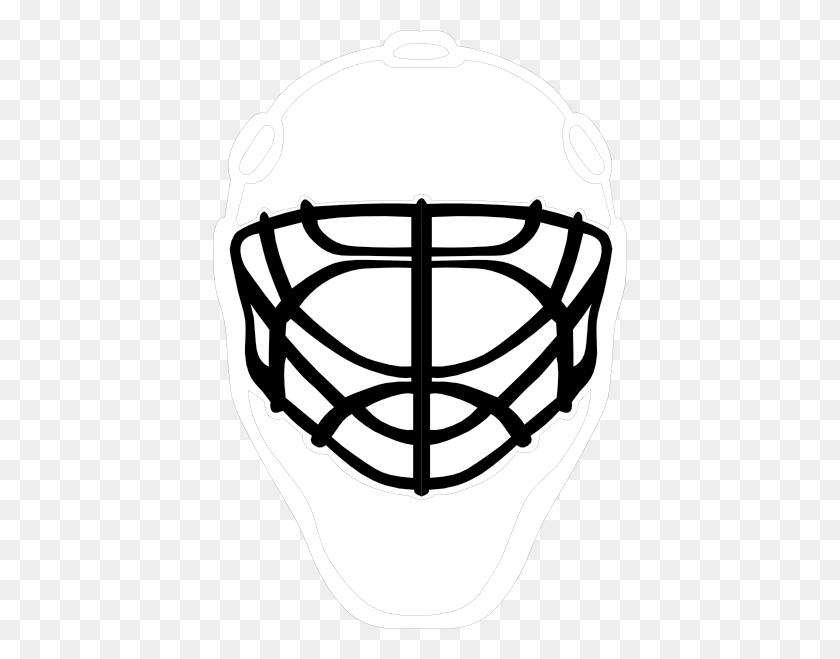Masks Clipart Goalie - Masks Clipart