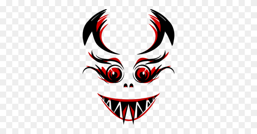 Masks Clipart Vampire - Masks Clipart