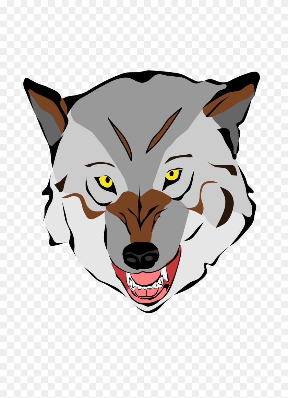 Masks Clipart Wolf - Masks Clipart