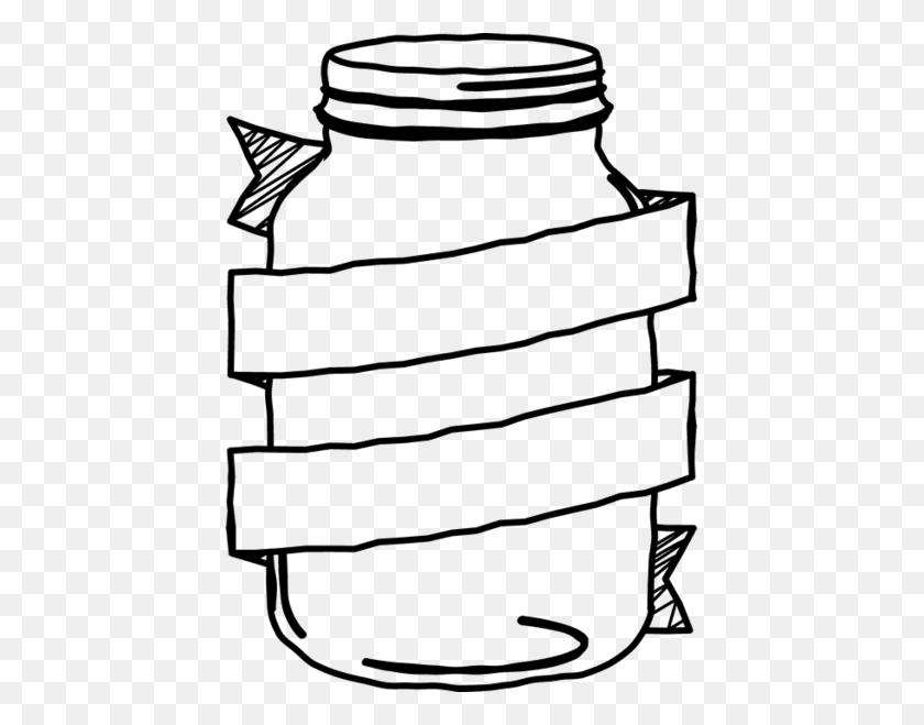 Mason Jar With Banner Stamp Mason Jar Stamps Wedding Stamps - Mason Jar Clipart Black And White