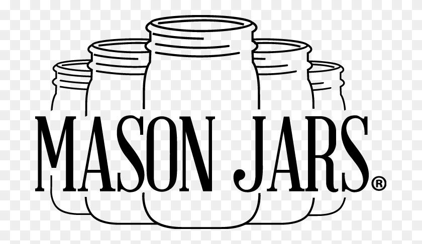 Mason Jars Art Of Aperitivo Italian Happy - Mason Jar With Flowers Clip Art