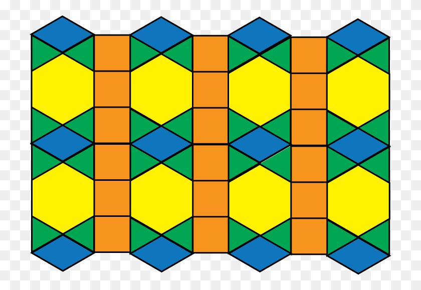 Math Clip Art Tessellation Pattern - Math Clip Art