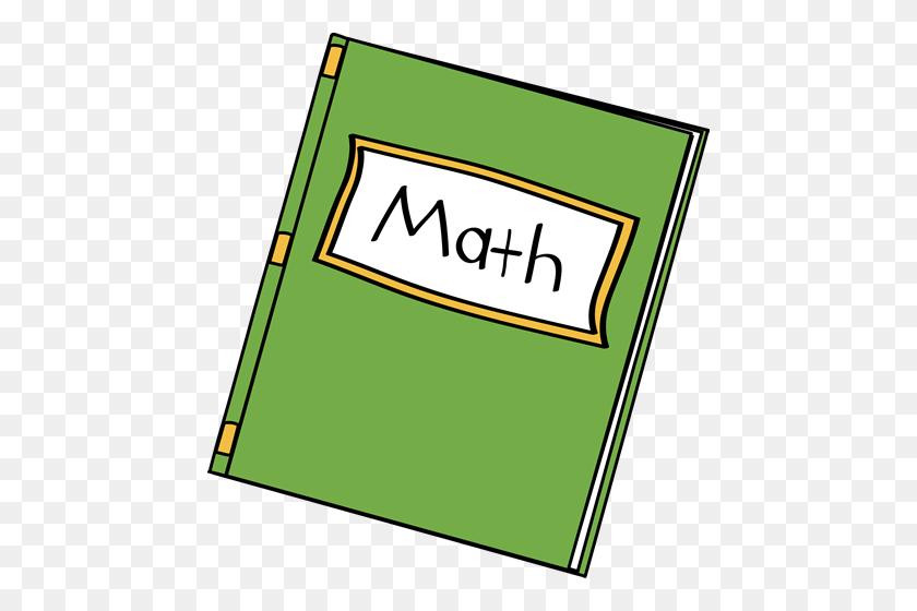 Mathematics Clipart Math Journal - Kindergarten Math Clipart