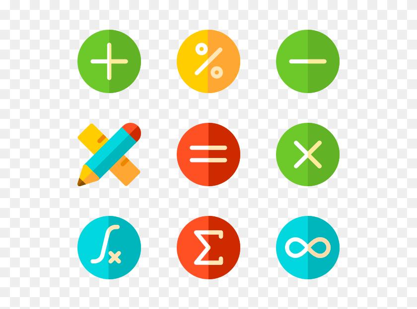 Mathematics Symbols Free Download Clip Art - Math Symbols Clipart