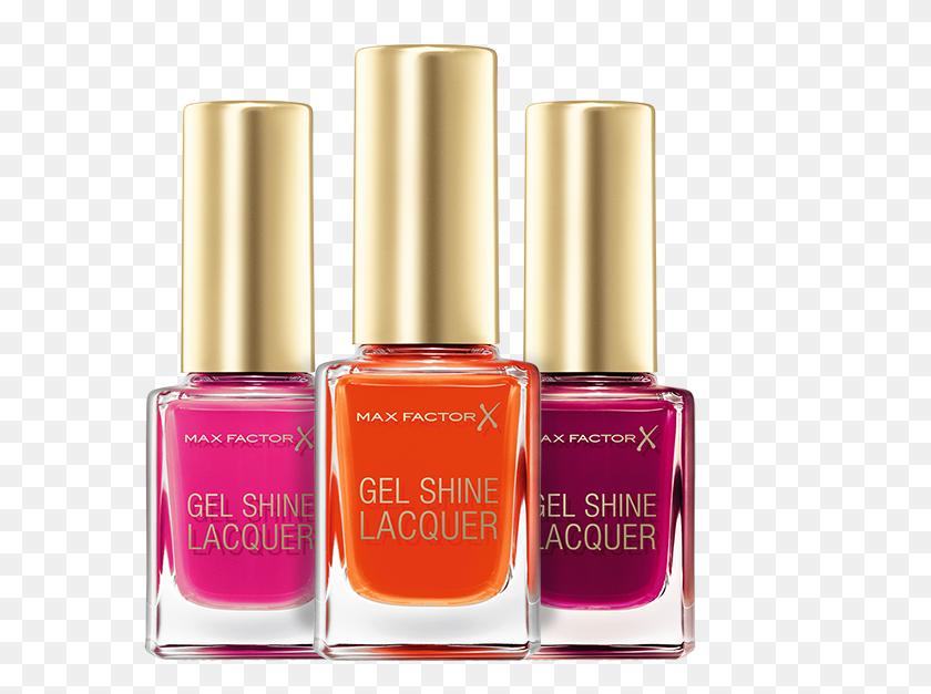 646x567 Max Factor Gel Shine Lacquer Nail Polish, Radiant Ruby, Ml - Nail Polish PNG