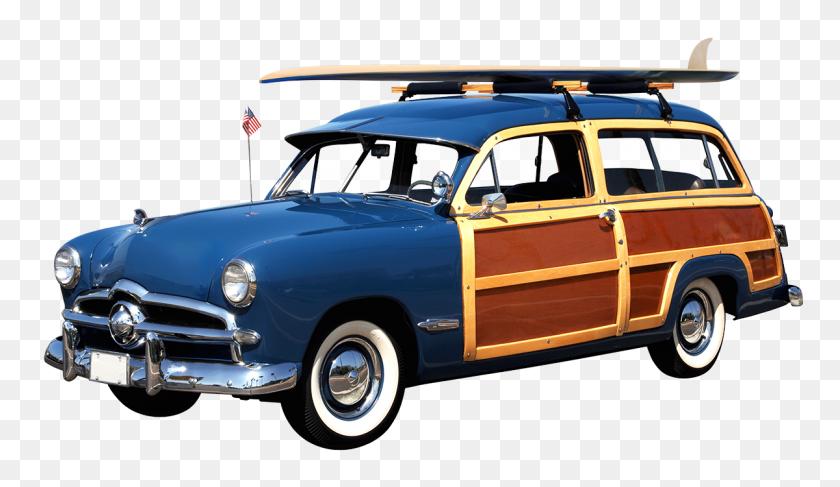 May - Vintage Car PNG