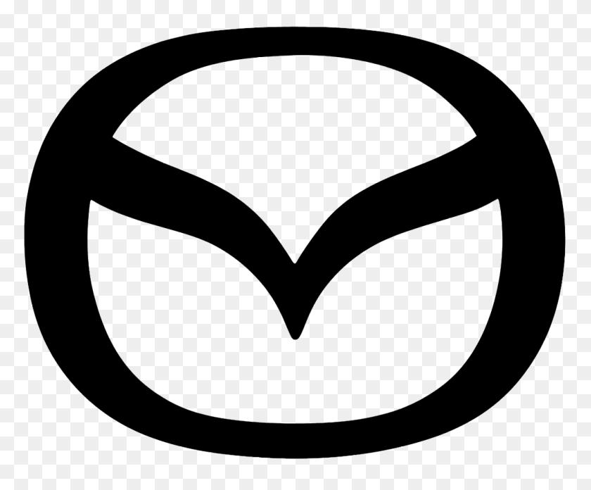 1024x835 Mazda Logo History - M Logo PNG