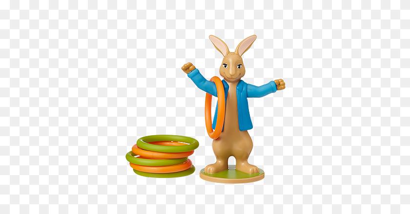 Mcdonald's Happy Meal Toys Peter Rabbit Hoopla Kids Time - Peter Rabbit PNG
