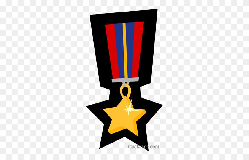 Medal Royalty Free Vector Clip Art Illustration - Medal