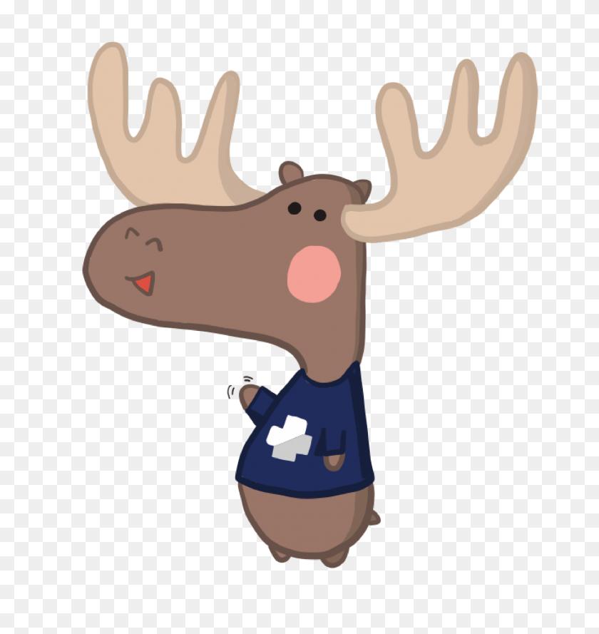 Medhacks Snow Day - Deer Tracks Clip Art