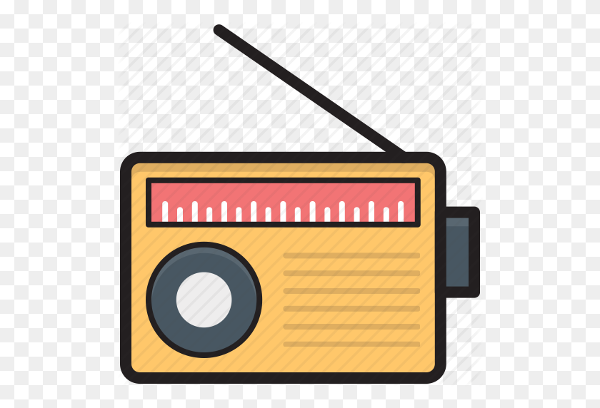 Media, Old Radio, Radio, Radio Set, Transmission Icon - Old Radio PNG