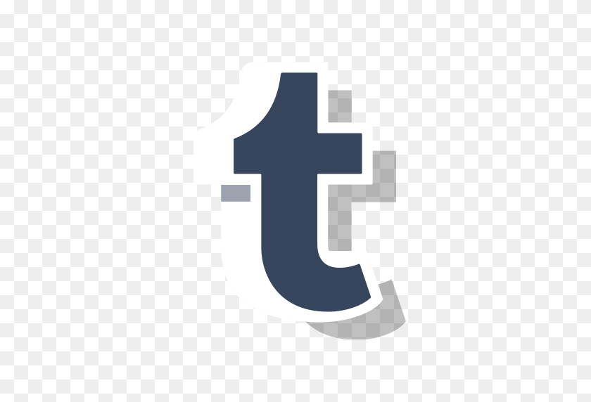 Media, Social, Online, Tumblr, Logo, Tumblr Logo, Tumblr New Logo Icon - Tumblr Logo PNG
