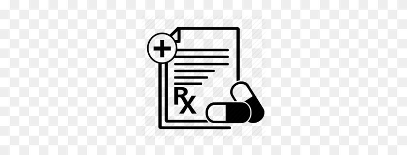 260x260 Medical Clipart - Rx Clipart