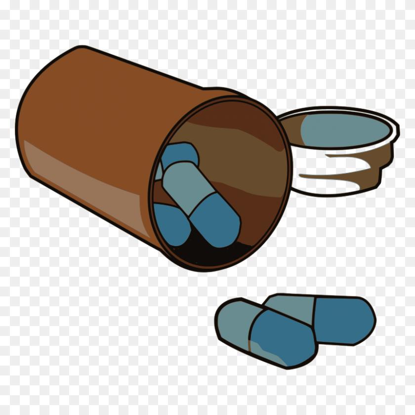 Medicine Bottle Clip Art Free Medicine Diy Cracked - Rx Bottle Clipart